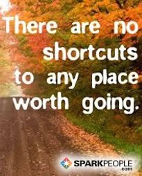 Take the long way--it's worth it! | via @SparkPeople #motivation #quote #inspiration