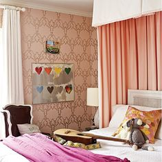 traditional bedroom for teenage girl
