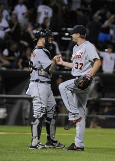 Scherzer pitches his first complete game. With Holaday. 6/12/14