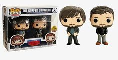 Stranger Things Duffer Brothers Hot Topic Exclusive Ready To Ship! Stranger Things Funko Pop, Funko Pop Dolls, Duffer Brothers, Joyce Byers, Funk Pop, Pop Characters, Pop Television, Pop Vinyl Figures, Funko Pop Vinyl