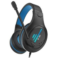 G90 Gaming Headsets - black-blue