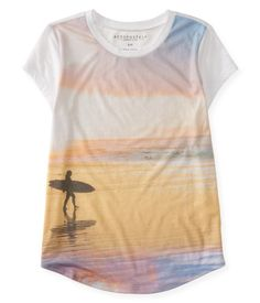 Surf Sunset Graphic T - Aeropostale