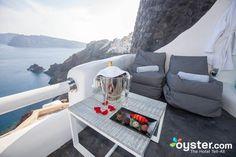 Built along the Oia cliffs, the boutique Art Maisons Luxury Santorini Hotels…