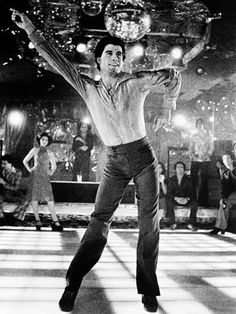 8f962bad2a6 Metal Print  Saturday Night Fever   16x12in 80s Music