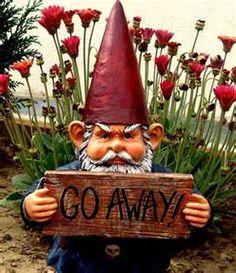 Go away gnome
