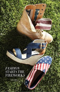 Dsw - Red, White, And Blue. Dress For It!