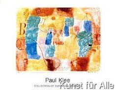 Paul Klee - Der L-Platz im Bau