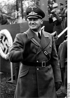 "Hans Frank, the Nazi governor of occupied Poland. Poles were seen as a source of labour for the Germans, not needing any more than an elementary education. In 1940 he had claimed: ""In Prague, big red posters were put up on which one could read that seven Czechs had been shot today. I said to myself, 'If I had to put up a poster for every seven Poles shot, the forests of Poland would not be sufficient to manufacture the paper.'"""