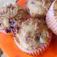 Recipe Picture:Mango and Blueberry Muffins