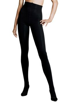 """H&M  """"I heart the tights from H&M! Why? They are dark, thick, cheap, and last! No crazy weird runs that normally happen with cheapies! These..."""