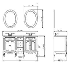 Standard Height For Bathroom Vanity on wood top for bathroom vanity, standard height for bathroom countertops, standard height for bathroom mirror, counter height for bathroom vanity, standard width for bathroom vanity,