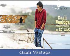 Gaali Vaaluga song and lyrics 2nd single from Agnathavasi movie song.