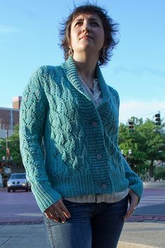 Girl Friday cardigan.  Will knit this year!