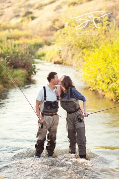 Fly-Fishing with my love