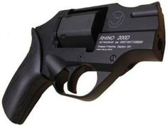 "New River Sports | Chiappa Revolver Rhino .357 Rem Mag 2"" 6rd Black Grip Black"