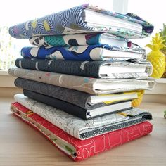this is my stack. sketchbooks & Quilters Planner all stacked together.this stack keeps moving around the apartment because my shelves are full of fabric. Sketchbooks, Shelves, Stitch, Fabric, Jackets, Shelving, Tejido, Down Jackets, Full Stop