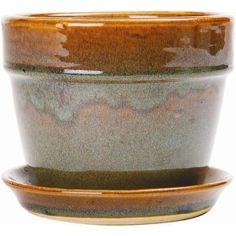 New England Pottery - 7.25 In. Reaction Fern/Azalea Pot - Safari - 15459329 - Home Depot Canada