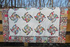 Fabrics & Flowers: Fan Quilt Pattern: part 1