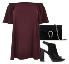 """""""Outfit #596"""" by naleland on Polyvore featuring moda, River Island, Michael Kors, Gucci i plus size dresses"""