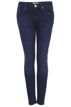 MOTO Dark Vintage Wash Baxter Jeans - Denim - Clothing - Topshop USA