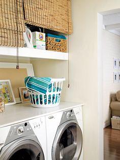 cortinas para ocultar estantes. CASA ORGANIZADA | Decorar tu casa es facilisimo.com