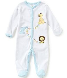 Starting Out Baby Boys Newborn-6 Months Circus Animal Coverall