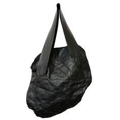 FLAT L - www.mymist.it - black shoulder bag