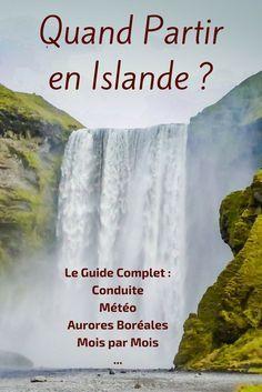 Tout ce que vous devez savoir pour décider quand partir en Islande : conditions de routes, météo, aurores boréales, pour et contre pour chaque mois et beaucoup plus - http://zigzagvoyages.fr/quand-partir-en-islande/