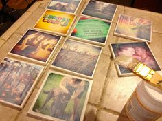 Cute DIY Room Decor Ideas for Teens - DIY Bedroom Projects for Teenagers - Instagram Photo Coasters