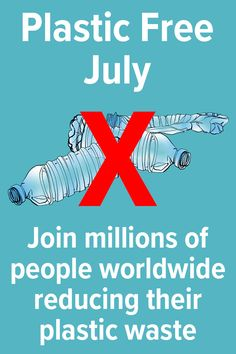 Join millions of people reducing their plastic waste. Plastic Free July, Plastic Waste, Feel Good, Party Supplies, Join, Positivity, People, Feeling Great Quotes, Party Items