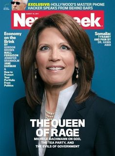 Here's The Story Behind Michele Bachmann's Iconic 'Crazy Eyes' Newsweek Cover – LISTEN
