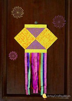 DIY Diwali Card Idea For Kids