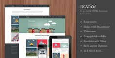 Discount Deals Ikaros - Responsive HTML Business & Portfoliotoday price drop and special promotion. Get The best buy