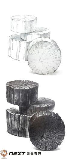 Cool Art Drawings, Pencil Art Drawings, Art Sketches, Pencil Drawing Inspiration, Yin Yang Art, Woodcut Art, Silverpoint, Art Basics, Interior Design Sketches