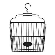 Vintage Black Metal Basket Wall Organizer | Kirklands