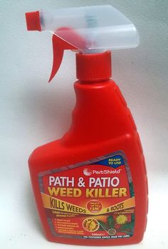 Details About 500ml Spray Bottle PATH PATIO Weed KILLER Kills Weeds ROOTS B2GOF