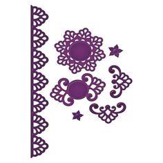 Die - Shapeabilities - Maroccan Accents - Frise : 2.9 x 23 cm