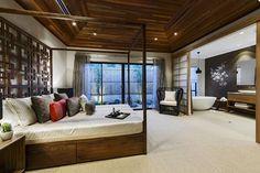 Decoración asiática: Azumi   #homedecor #home #decor #interior #decoracion #bedroom #rooms #dormitorios