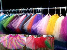 26 colorsTutu Ballet Tutu Dress up tutu photo props by Melodylinen, $8.15