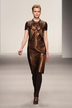 Vestido metalizado - Jasper Conran
