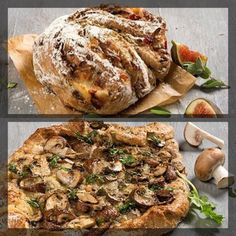 Gorgonzola-vijgen brood & kastanje -gruyere brood #winkels  #shopping  #ambacht  #style