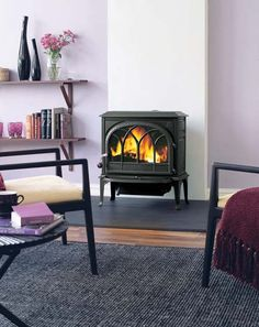 wood stoves :)