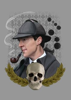 """hellonsy: """" Digital painting for the Sherlock special! And now we wait… You can buy it printed on stuff here: http://society6.com/hellonsy http://www.redbubble.com/people/hellonsy/shop """""""