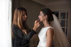 CAROLINA | Cambio de look durante la boda | Cambio de peinado en la boda  | Peluqueria y maquillaje de novias Eva Pellejero | Recogido clásico de novia
