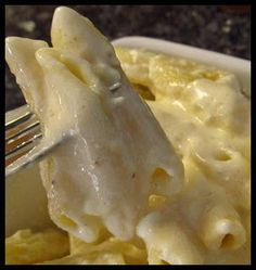 I dont know why people buy jarred alfredo sauce!!! Olive Garden Alfredo Sauce. 1 pkg Pasta (we like penne, instead of fettuccine) 1 stick of butter 1 clove of minced garlic 1 pint of heavy cream 1 cup of fresh Parmesan cheese 2 tbsp cream cheese 1/4 tsp salt 1/2 tsp white pepper