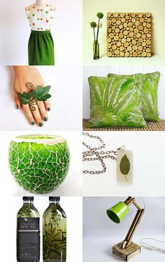 green spring by MissMayo on Etsy--Pinned with TreasuryPin.com #green #etsy #leaf #nature #spring #gifts
