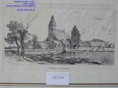 Deutschland-Mecklenburg-Vorpommern--GRIMMEN-TREBEL--pommern-Germany-allemagne-Alemania - Engravings - Stiche - Lithographien - Alte Grafik - Graphik- W.CRAMES