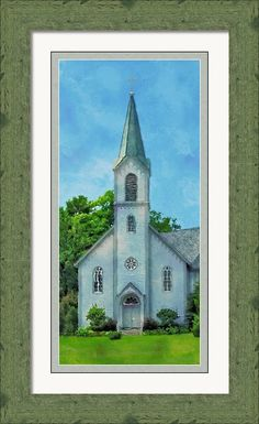 """$299 for a print that is 9"""" x 20"""" framed and matted print. Can be customized to fit your decor. Art Prints For Sale, Fine Art Prints, Framed Prints, Harbor Springs Michigan, The World's Greatest, Delaware, Great Artists, Art Work, Ohio"""