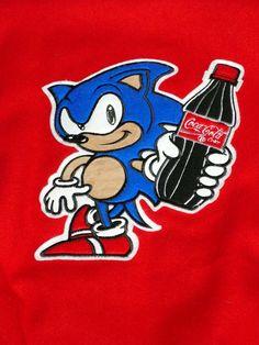 Sonic the Hedgehog 2 Promotional Coca-Cola Jacket