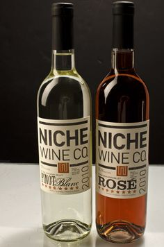 Niche Wine Co. Designed by Topshelf Creative & Geoff Vreeken | Country: Canada #taninotanino #vinosmaximum